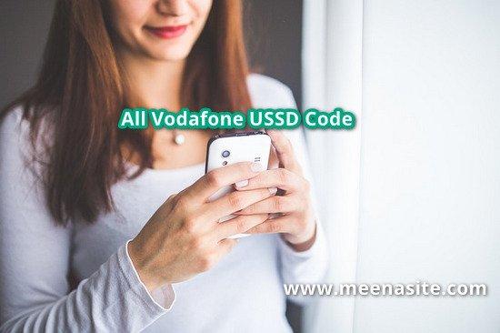 Vodafone Balance Check Kaise Kare {All Vodafone USSD Code}